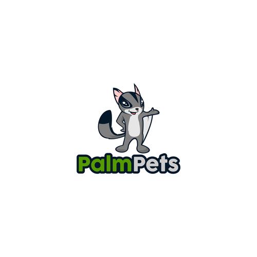 logo concept for Palm Pets