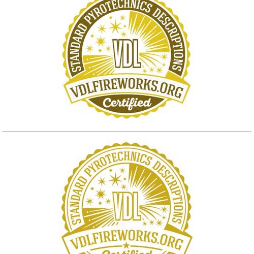 Logo Design for VDL Fireworks
