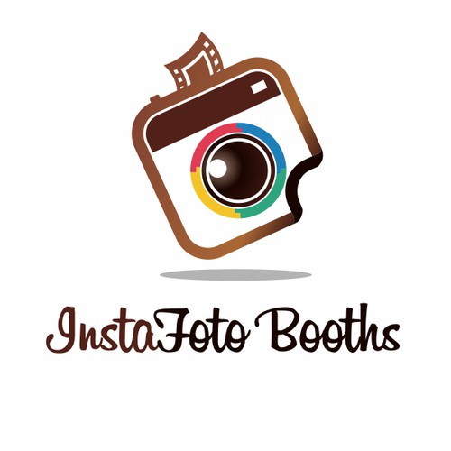 "Simple logo for a Photo Booth Company ""InstaFoto Booths"""