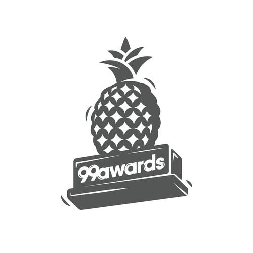 Logo re-design for prestigious awarding event on 99d
