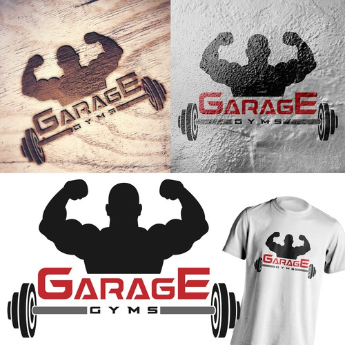 Logo Concept - Garage Gyms