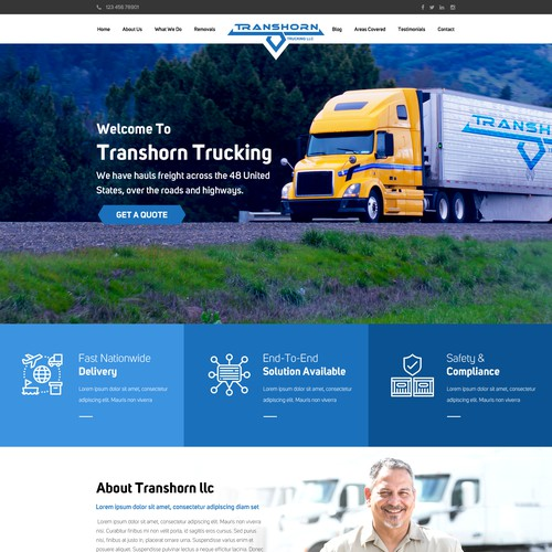 Trucking Website