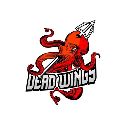 unused logo proposal for dead wings