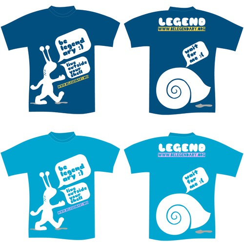 Be Legendary needs a new t-shirt design