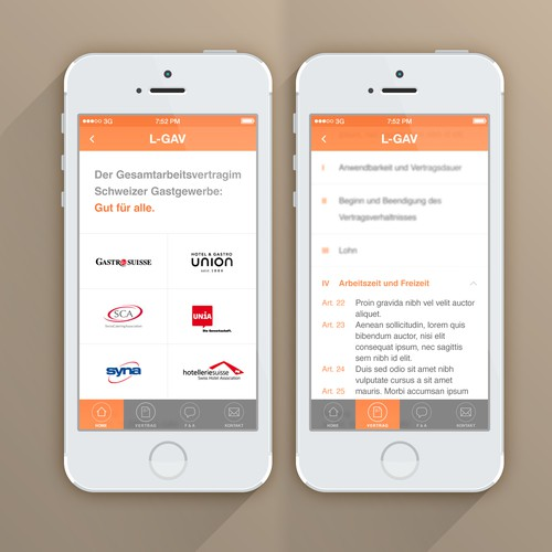 Your help is required for a new mobile app design