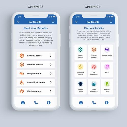 mobile app design for fintech startup