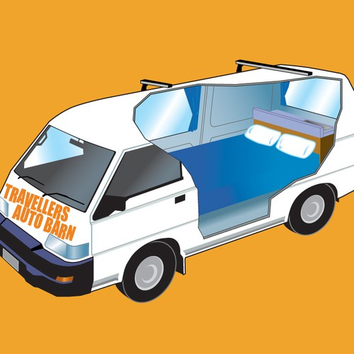 CARTOON STYLE CAMPERVANS/CARS AS EPS. FILES