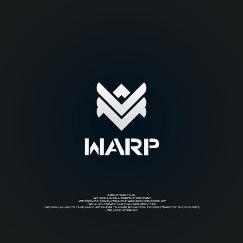 design  warp logo