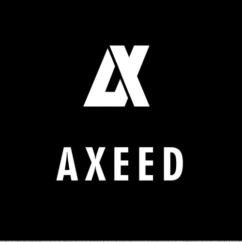 Simple logo for axeed