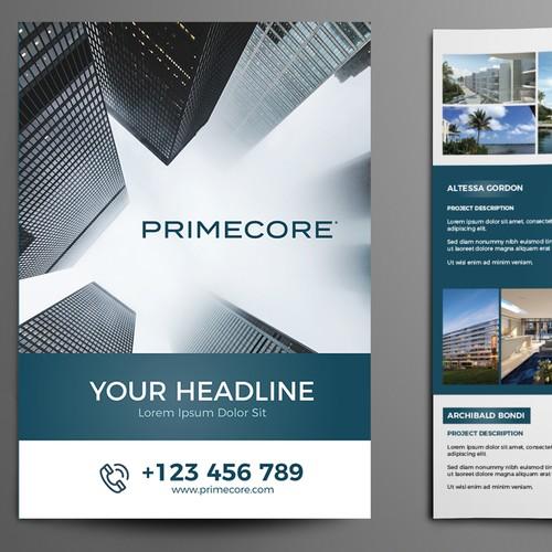 Primecore - Brochure Design