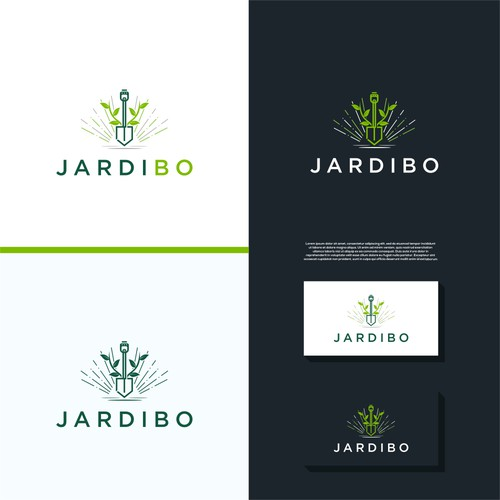 JardiBo nouvelle identitée pour des aménagement paysagée