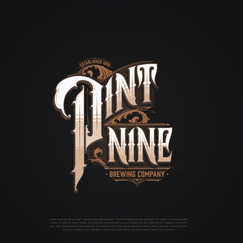 Pint Nine Brewing Co. / Logo