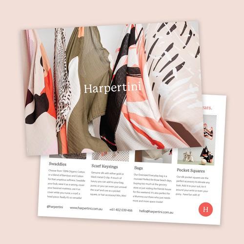Postcard for Harpertini
