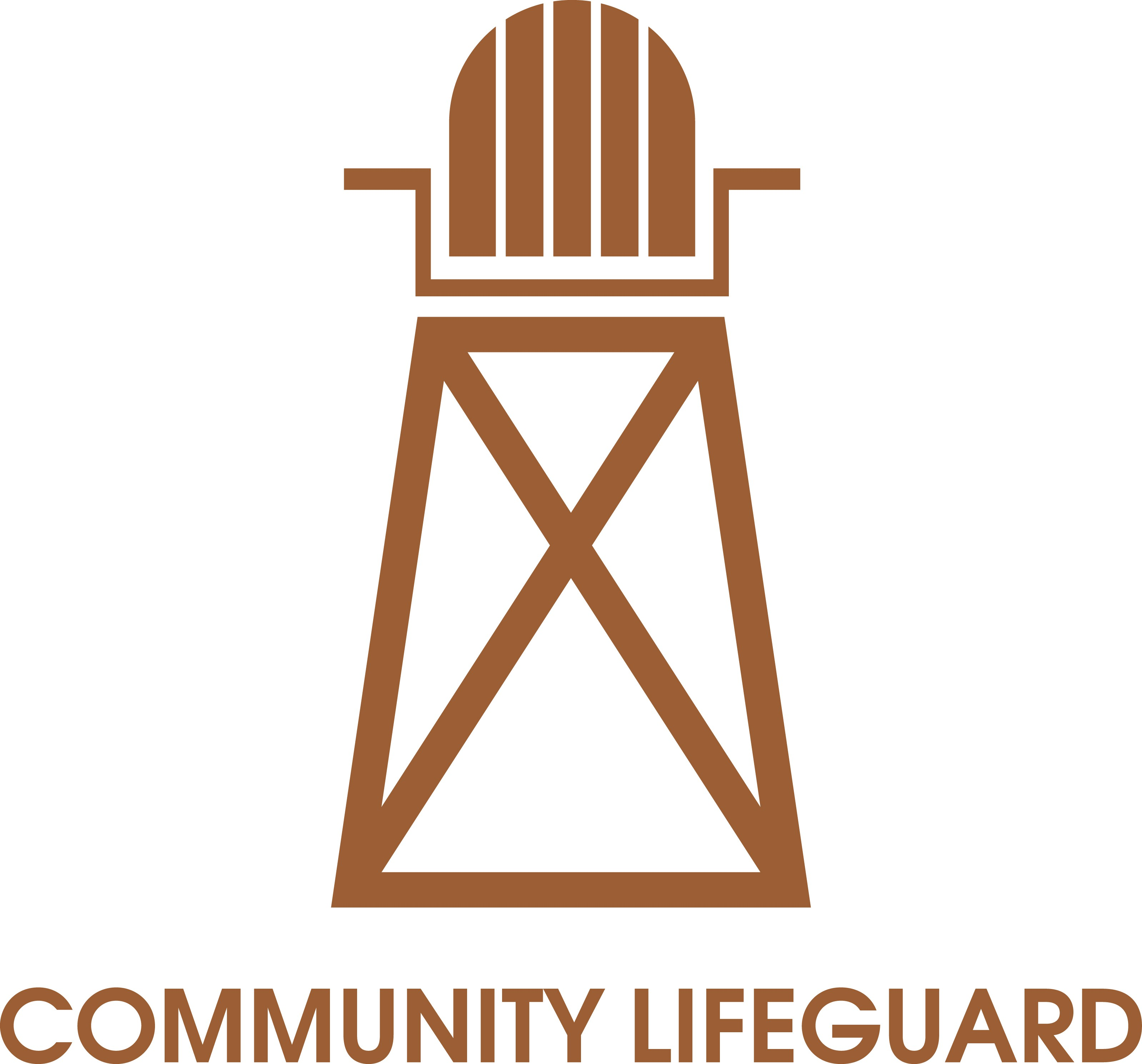 Design a sweet-action Lifeguard logo, is there a better way to kick-off the summer?