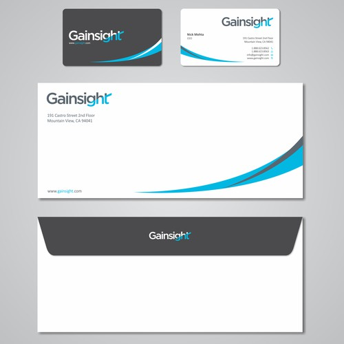 Gainsight rebranded business cards