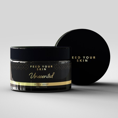 Luxury Cosmetics Label Design