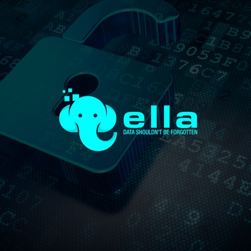 elephant logo for data program