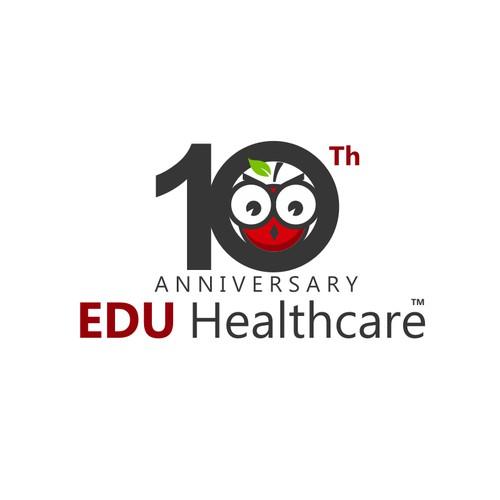 10 Year Anniversary Logo Design Using Existing Logo