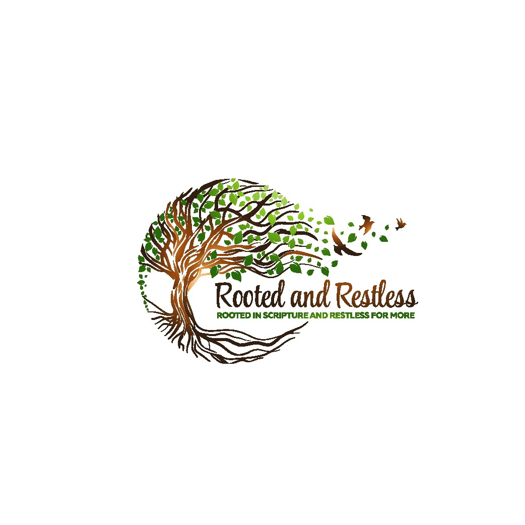 New Logo for Blog Launch (Rooted and Restless)