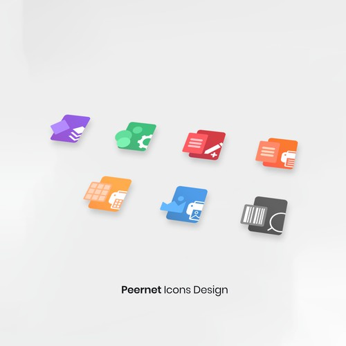 App icons for Peernet