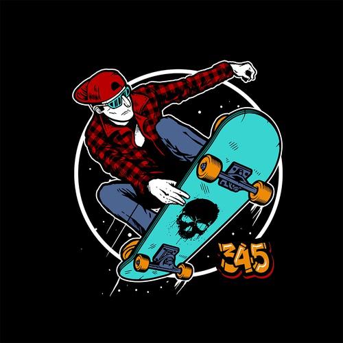 Boston St. Designs Skater