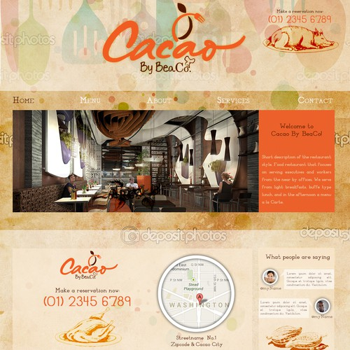 Create the next website design for Cacao by BeaCo