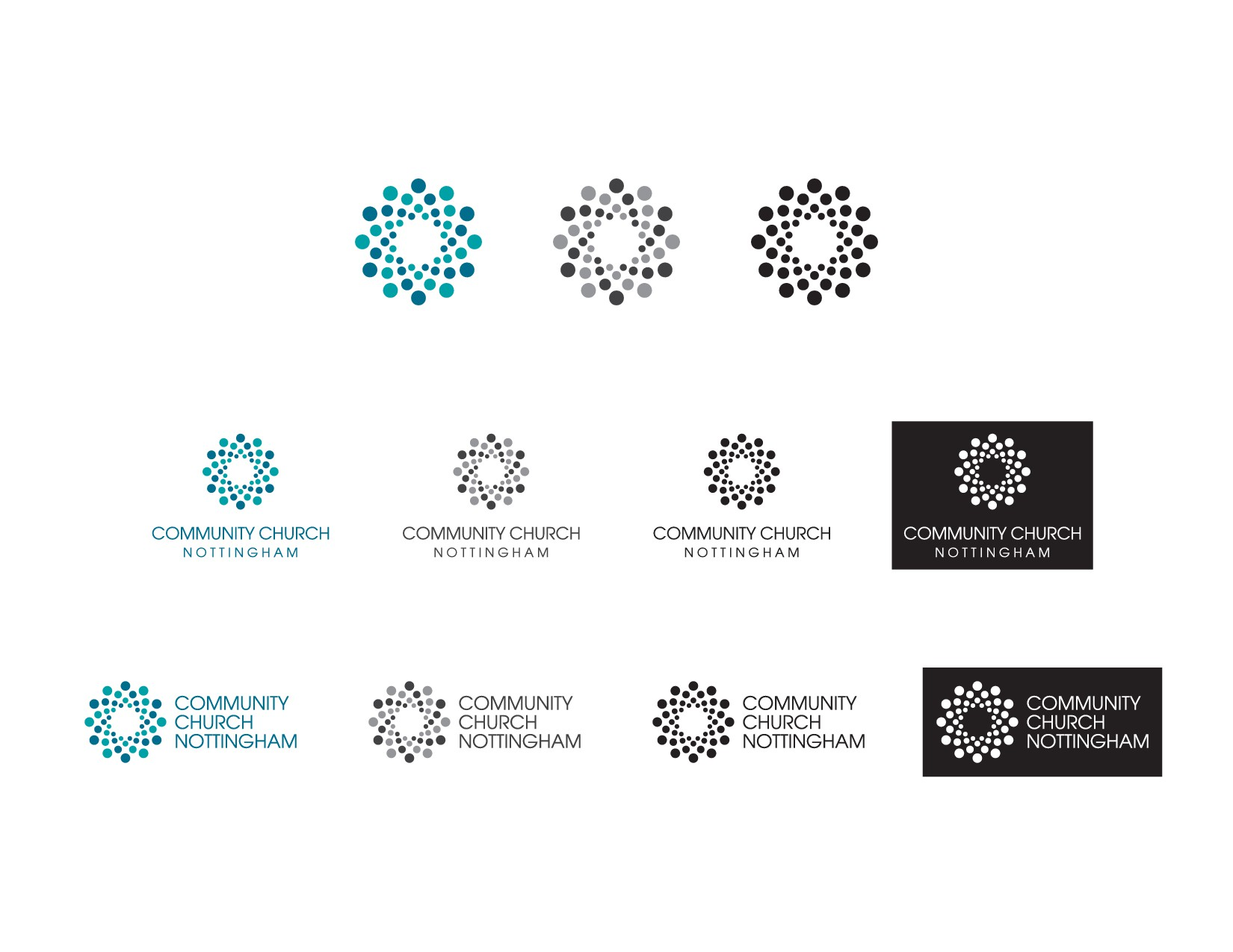 Create a fresh identity for a new church starting in the City of Nottingham UK