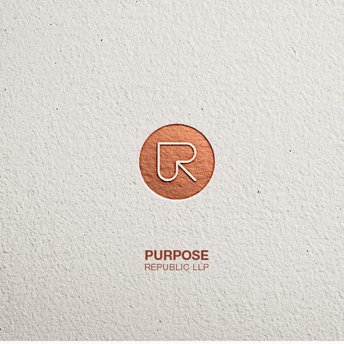Logo proposal for Purpose Republic LLP