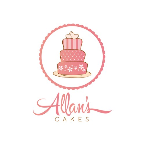 Create a winning Logo for Allans Cakes that will turn us into a recognizable brand