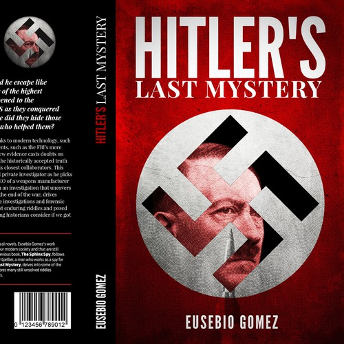Book Cover for Hitler's Last Mystery.