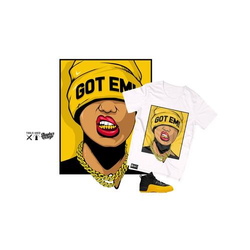 Got EM!