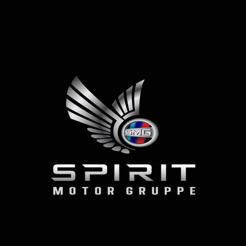 Luxurious logo for Spirit Motor Gruppe
