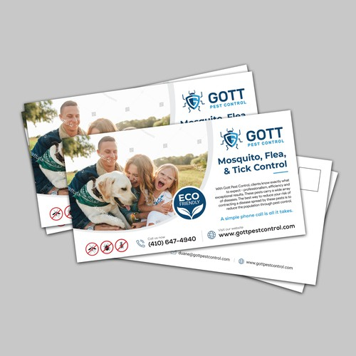 Postcard for Gott Pest Control