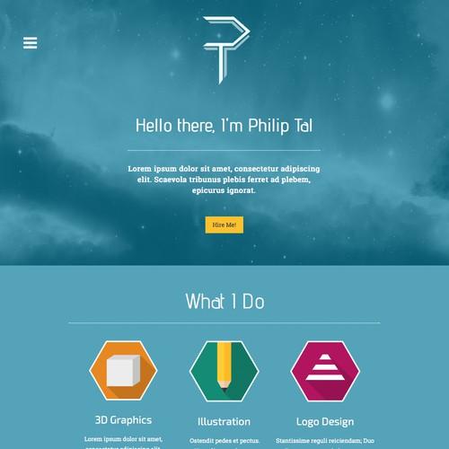 Designer Portfolio Website and Logo