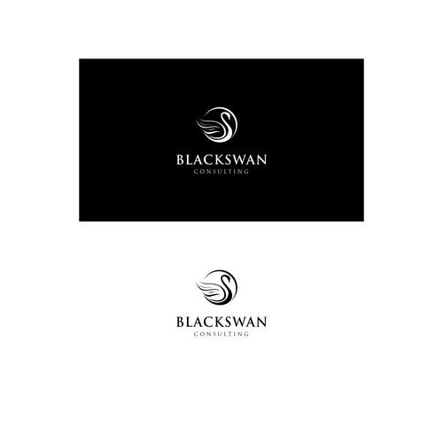 Black swan logo png