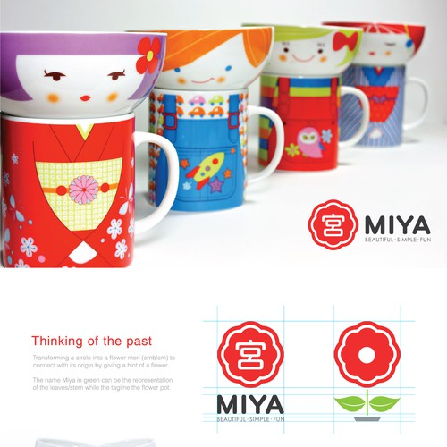 Logo Design for Miya Company