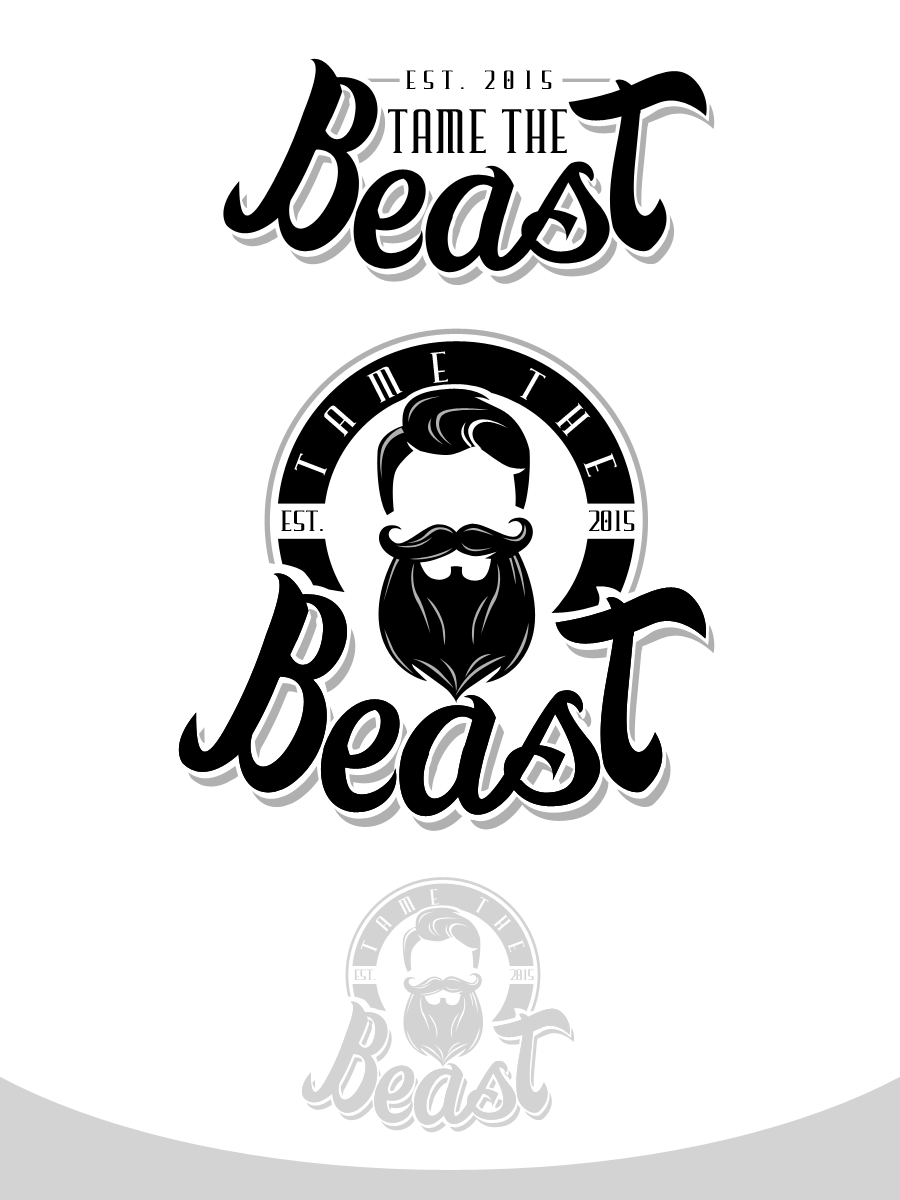 Create a logo for Men's Beard & Hair care/styling