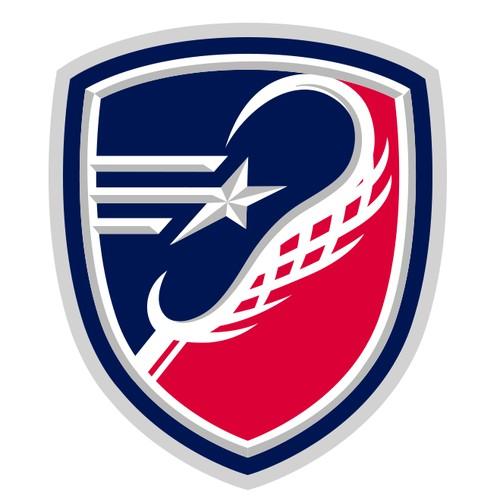 Lacrosse Sports Logo