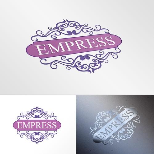 Elegant logo concept for a womans fashion business