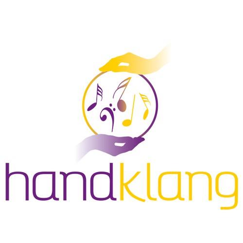 hand-klang Logo: Massage mit Musik verbinden