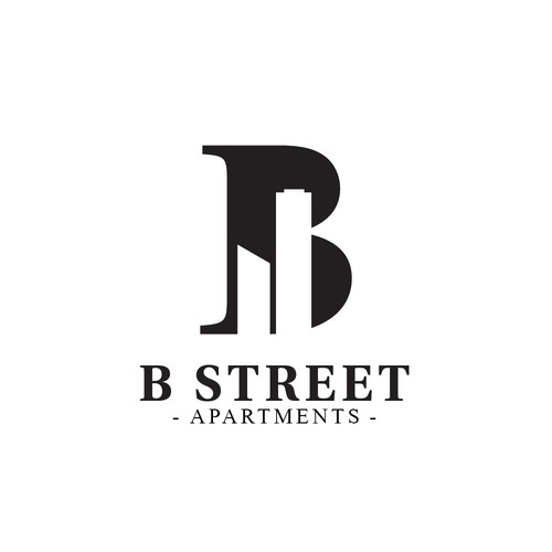 Logo concept for B Street Apartments