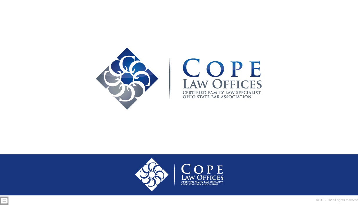 Create the next logo for Cope Law Offices