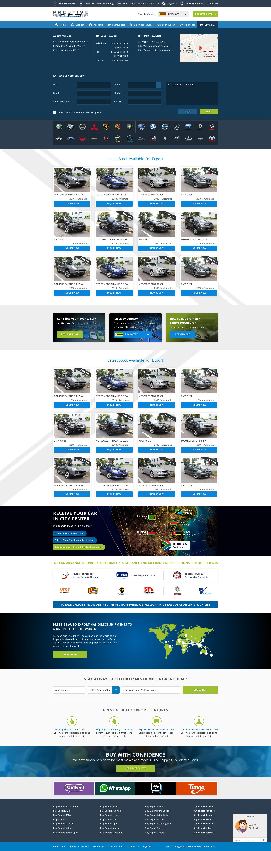 Car Exporters/ Dealers Website Portal