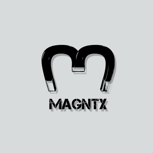 Rough logo concept for Magntx