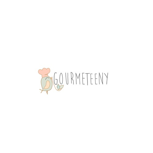 Logo for emerging baby food brand