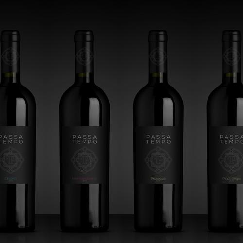 New Wine Label
