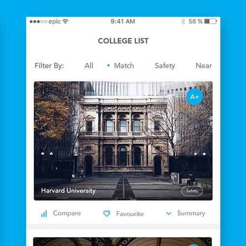 App design concept for edquity