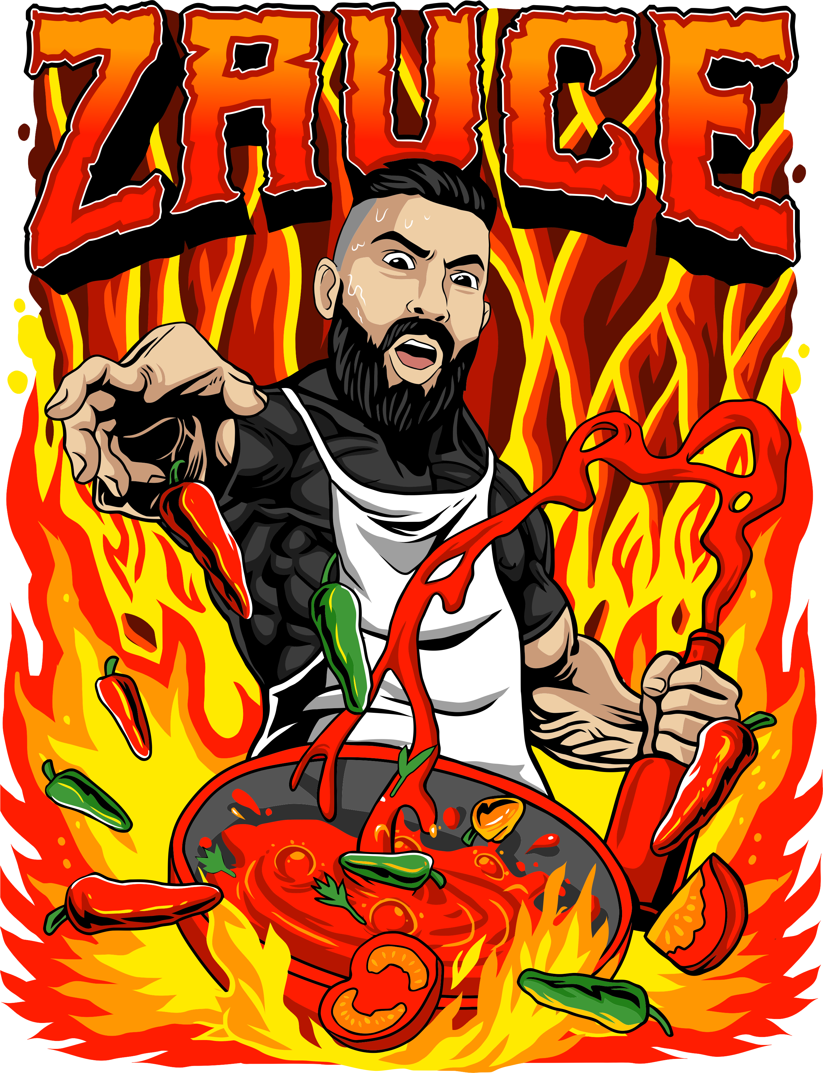 HOT ZAUCE! Let's Spice Things Up For A FIERY HOT Design
