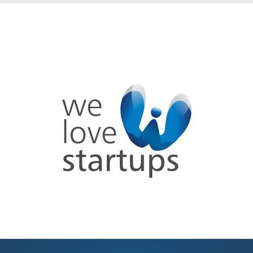 'We Love Startups' logo (guaranteed payment)