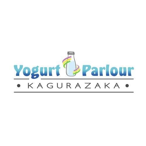 Logo für eine Joghurt Bar